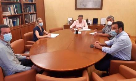 El Presidente de la CHS se reúne con la Alcaldesa de Cehegín, para tratar temas de interés municipal cuya competencia corresponde al organismo de cuenca