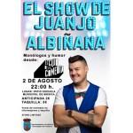 El humor al más puro estilo manchego de Juanjo Albiñana llega a Bullas