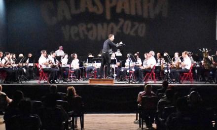 LA Asociación Banda de Música de Calasparra pone el broche de oro al día de la Patrona