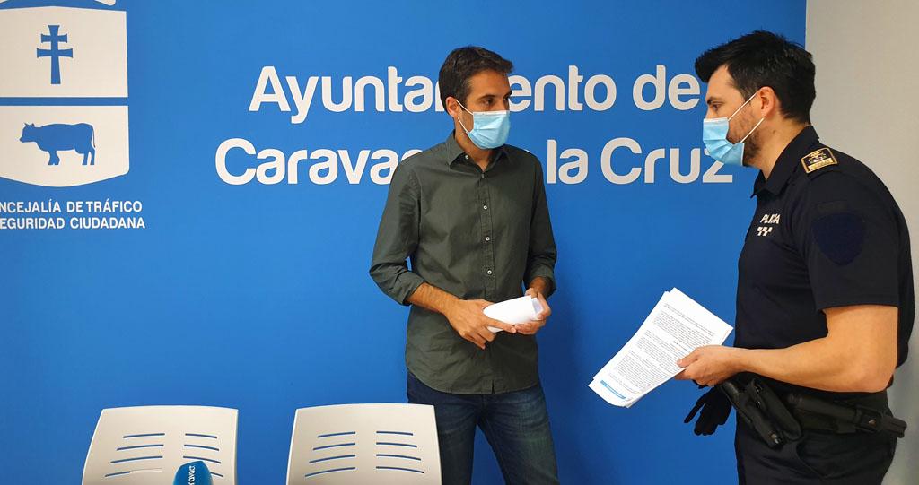 La Policía Local de Caravaca realiza cerca de 2.300 actuaciones en el casco urbano y pedanías durante los seis meses de alerta sanitaria