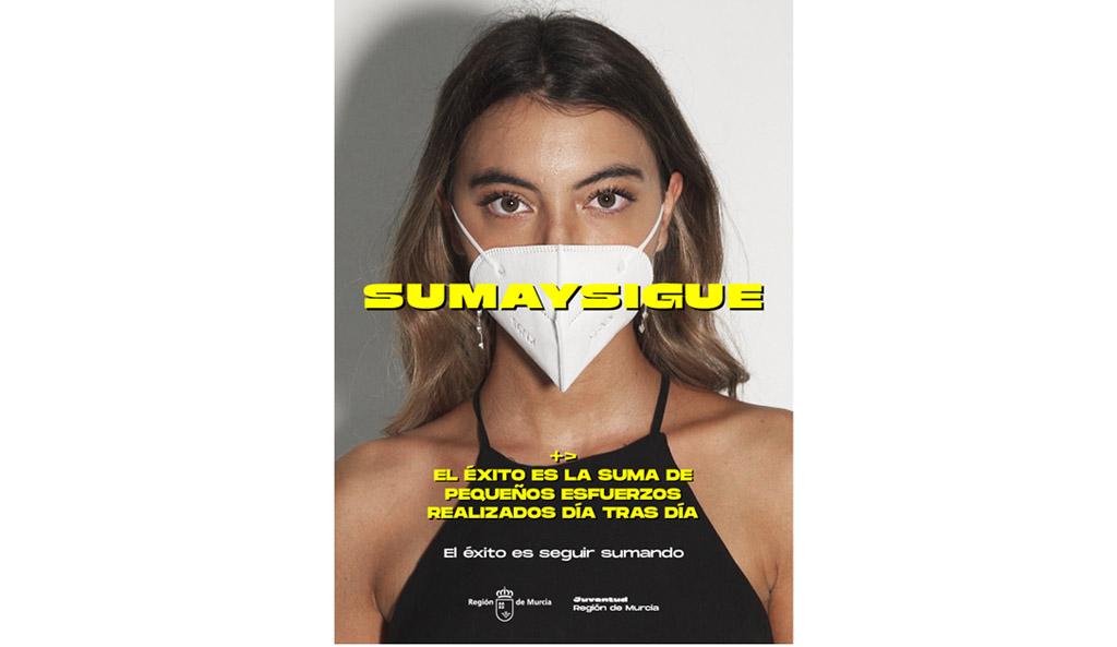 El Ayuntamiento de Caravaca se une a la iniciativa 'Suma y Sigue' para fomentar entre los jóvenes conductas responsables frente al coronavirus