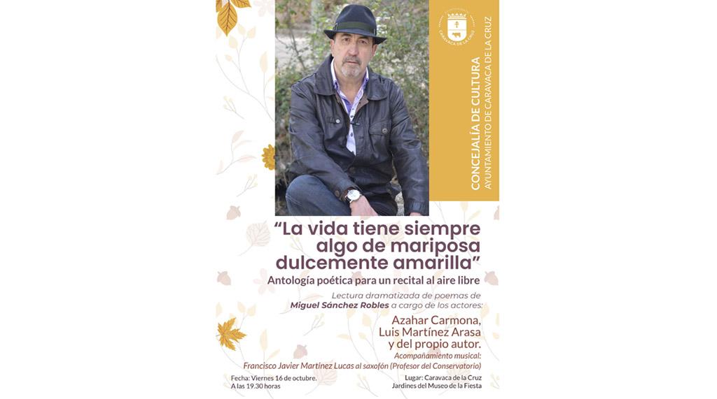 Recital de las poesías de Miguel Sánchez Robles en el Museo de la Fiesta de Caravaca