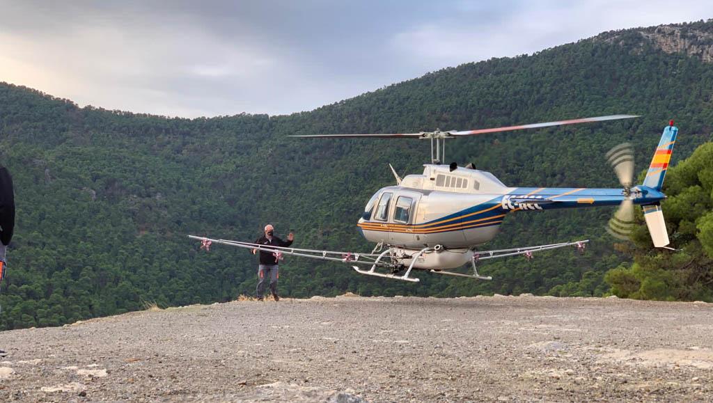 La Comunidad invierte 1,3 millones en actuaciones contra la procesionaria del pino mediante tratamientos aéreos con productos ecológicos