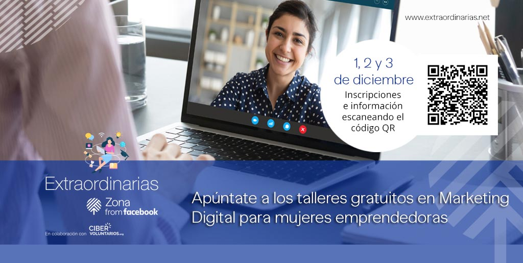 Talleres gratuitos de Marketing Digital para mujeres emprendedoras