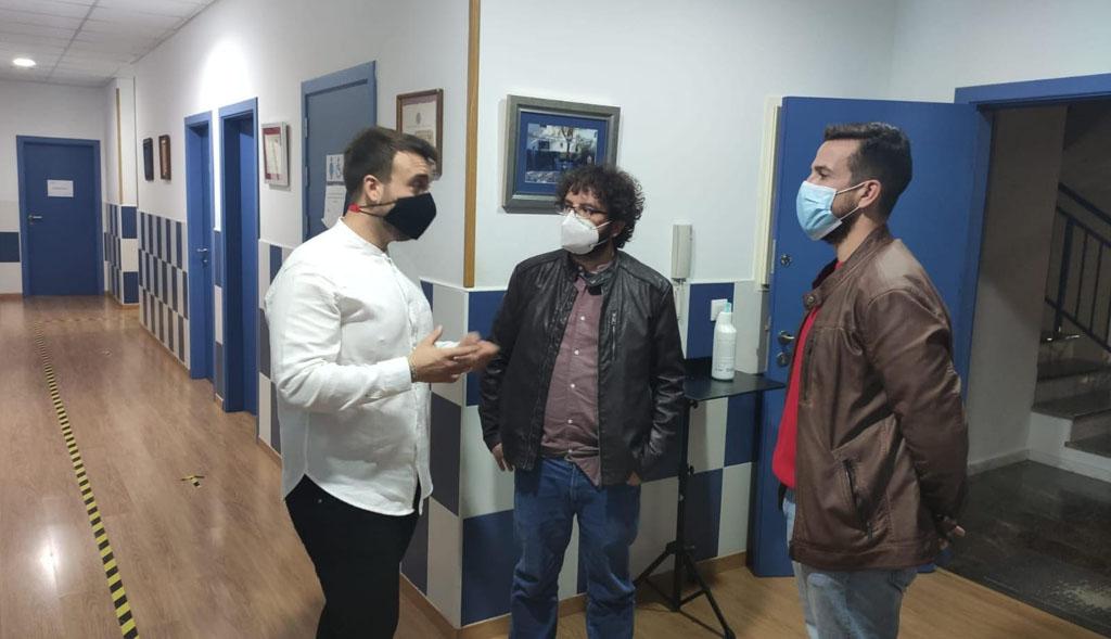 Primer contacto con el nuevo director de la Banda de Música de la Agrupación Musical Muleña