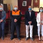 Suscrito el convenio anual con la Agrupación de Voluntarios de Protección Civil de Mula