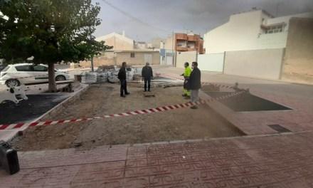Renovación, ampliación y acondicionamiento de un parque en la pedanía de La Copa