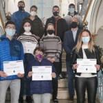El Ayuntamiento de Cehegín entrega Becas a varios deportistas cehegineros por los logros conseguidos en la temporada 2019/2020