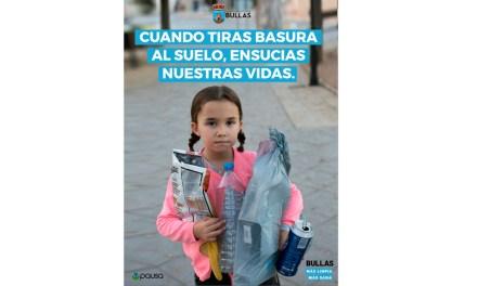 Campaña especial 'Bullas más limpia más sana'