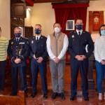 Jesús Celdrán Sánchez y Pedro López Márquez toman posesión del cargo de nuevos subinspectores de la Policía Local