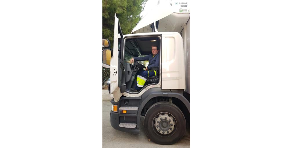 """Antonio José Pastor, camionero: """"Recuerdo la facilidad para moverme por carreteras sin tráfico y el silencio de las calles vacías"""""""