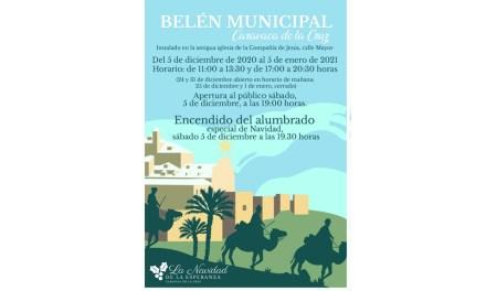 El Ayuntamiento de Caravaca abre este sábado el Belén Municipal y enciende la iluminación de Navidad como apoyo al comercio local