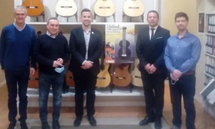 """Ramón Vergara: """"Los comienzos del Festival y Concurso de Guitarra Ciudad de Mula deben ser humildes, pero nosotros apostamos a lo más alto"""""""