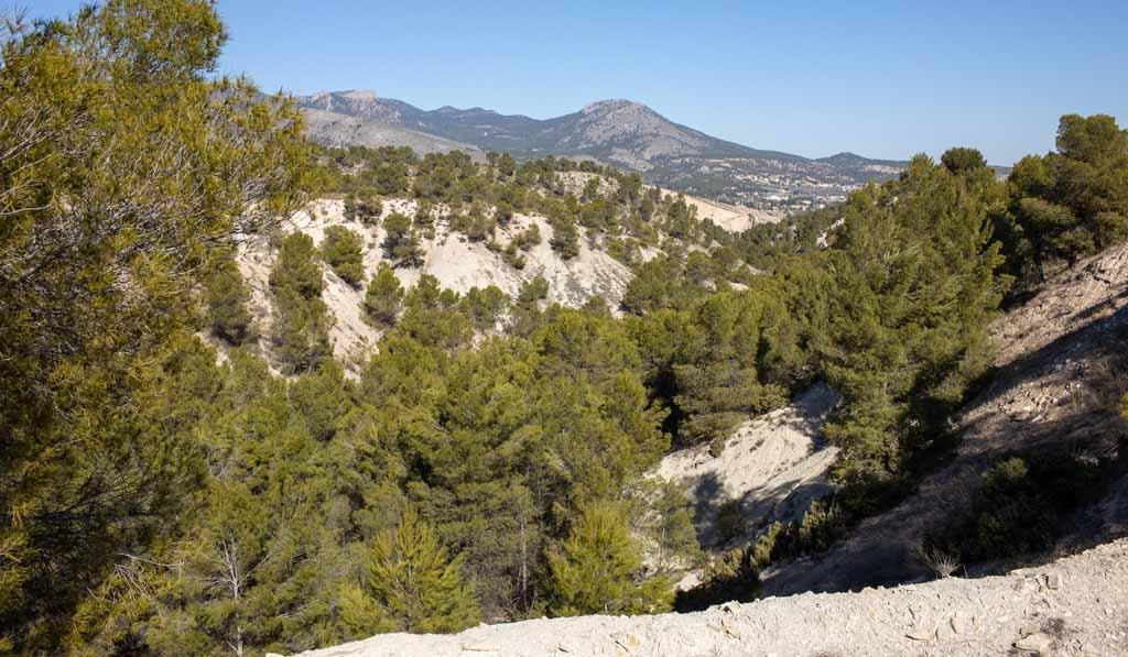 En marcha el procedimiento para declarar Monumento Natural la 'Capa Negra' del Barranco del Gredero de Caravaca de la Cruz