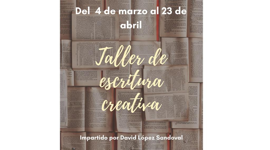 David López Sandoval imparte un Taller de Escritura Creativa organizado desde el Ayuntamiento de Bullas