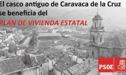 El casco antiguo de Caravaca de la Cruz se beneficia de las ayudas del Plan Estatal de Vivienda