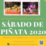 El Ayuntamiento de Cehegín retransmitirá por las Redes Sociales el Desfile de Carnaval de Sábado de Piñata 2020