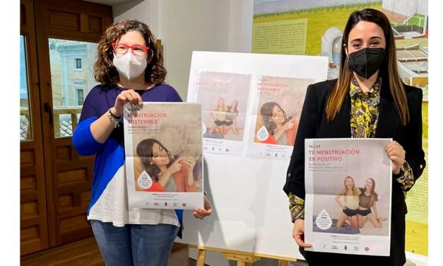 Juventud e Igualdad de Mula organizan dos talleres educativos sobre menstruación sostenible con motivo del Día de la Mujer