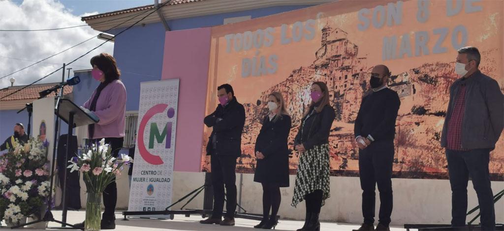 Canara acoge la lectura del Manifiesto por el Día Internacional de la Mujer