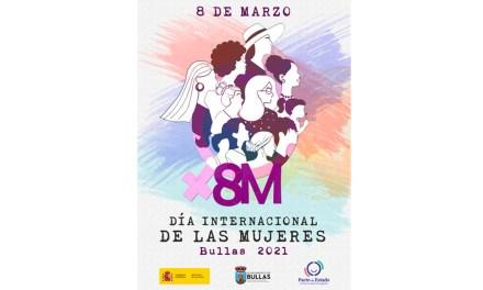 El Ayuntamiento de Bullas conmemora el 8M con una programación extensa