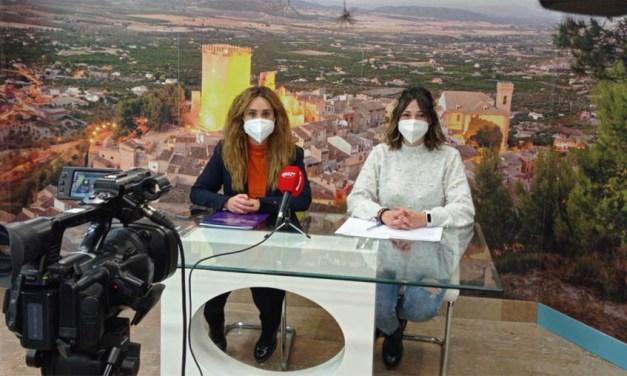 """Irene Llorente, concejala de Igualdad en Moratalla: """"Se trata de un proyecto encaminado a la realización de campañas de sensibilización y prevención de cualquier forma de violencia contra las mujeres"""""""