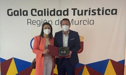 Mula recibe el reconocimiento a la calidad turística Sicted