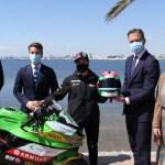 Ana Carrasco lucirá la marca Costa Cálida en el campeonato del mundo de motociclismo