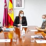 Isabel Franco recibe a la Alcaldesa de Cehegín