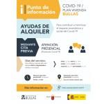 Punto de información para ayudas al alquiler Covid-19 habilitado por el Ayuntamiento de Bullas