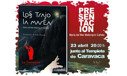 La Biblioteca de Caravaca celebra el 'Día del Libro' con una presentación al aire libre de la novela 'Los trajo la marea'