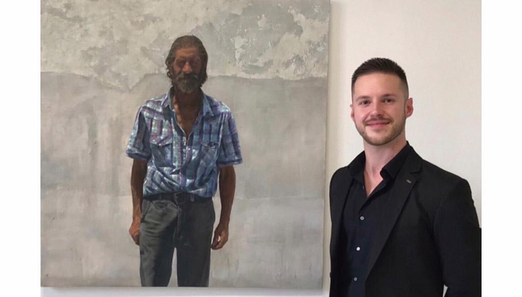 Paco Fernández: «A cada persona que veo le voy asignando qué artista podría haberla pintado, Leonardo, Rembrandt…»