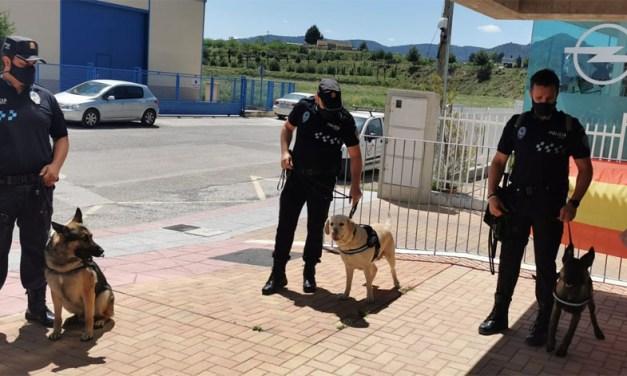 La Policía Local de Cehegín presenta su nueva Unidad Canina