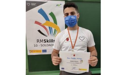 Juan Caballero Zamora, campeón de la Región de Murcia Skills