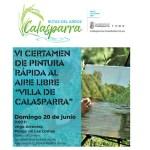 El VI Certamen de pintura rápida al aire libre 'Villa de Calasparra' tendrá lugar el 20 de junio