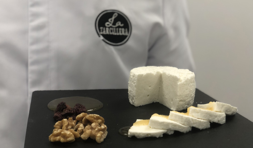 La Zarcillera, quesos artesanales elaborados con leche de sus propias cabras
