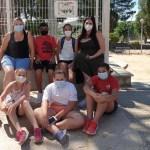 Los jóvenes de Calasparra conciencian a sus vecinos para mantener limpio el municipio