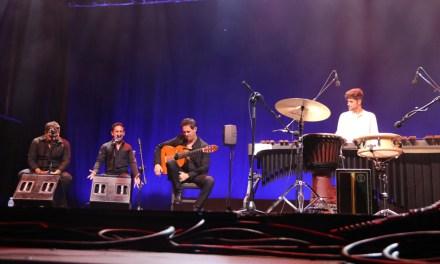 La sirena de Maquinista de Levante conmociona a La Unión en el inicio del 60 Festival Internacional del Cante de las Minas