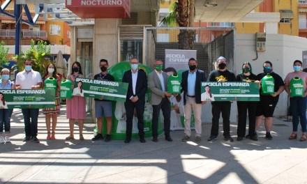 La peña Triunfador recibe uno de los tres premios de la campaña 'Recicla Esperanza' de apoyo a causas contra la COVID-19 y fomento del reciclaje