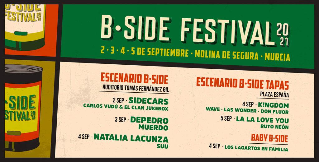 """El """"B-Side Festival"""", de Molina de Segura, contará con """"Sidecars"""" y otros platos fuertes"""