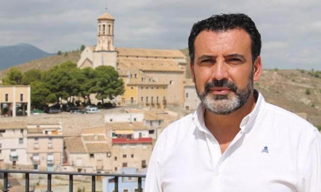"""Jerónimo Moya, alcalde de Cehegín: """"Nos hemos centrado en las actividades musicales y los actos religiosos"""""""