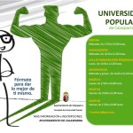 Abierto el plazo de matriculación de los cursos de la Universidad Popular de Calasparra 2021/2022