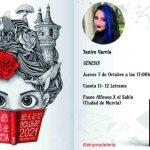 Yanire García firmará ejemplares de su primera novela, Génesis, el día 7 en la Feria del Libro de Murcia