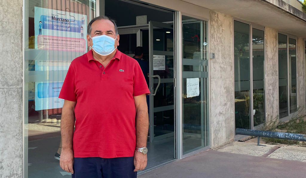 Salvador Egea, pregonero: «En las fiestas de Bullas hacía frío y estrenábamos la ropa del invierno»