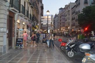 calle central de granada