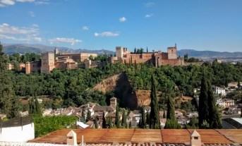 la Alhambra, dese el mirador de San vicente