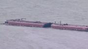 Choque entre embarcaciones provoca cierre del Canal de Navegación de Houston | Foto: Especial