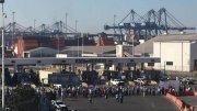 Foto ilustrativa | Un bloqueo al puerto de Manzanillo, hace un par de años