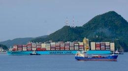 Buques en la ciudad portuaria de Manzanillo | Foto: Carlos Valdez Alcázar