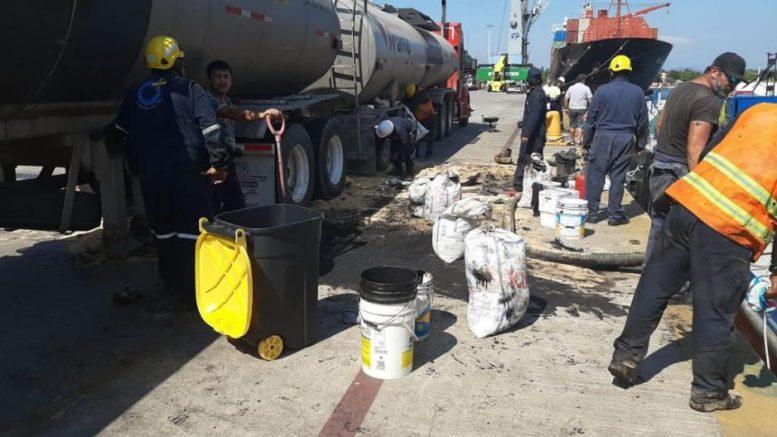 Derrame de hidrocarburo | Foto: Profepa