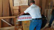 Clausura de madereria | Foto: especial